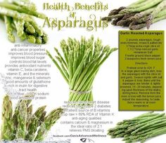 Asparagus is nutrient rich, low in calories and a good source of dietary fiber
