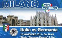 stasera 15 novembre L'Italia di Prandelli sfida la Germania
