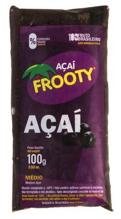 Açaí Frooty | Açaí natural em Polpa - Pote – Balde