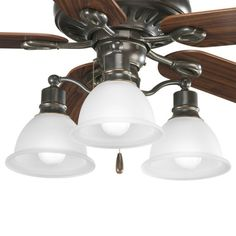 CanadaLightingExperts | Madison - Three Light Ceiling Fan Kit