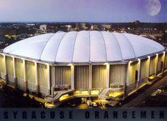 The Carrier Dome, Syracuse, NY