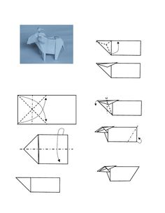 origami goat instructions - Google Search