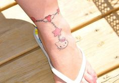 Hello Kitty Anklet