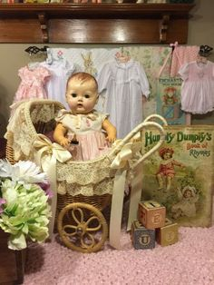 "American character ""tiny tears"" Tammy Shackelfords Z Tiny Tears Doll, Doll Display, Doll Beds, Alexander Dolls, Bear Doll, Old Dolls, Little Doll, Doll Maker, Antique Toys"