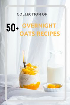 We have 50+ OVERNIGHT OATS RECIPE COLLECTION in this post – Isn't that super handy every morning !!