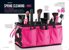 The Avon Beauty Caddy ONLY $9.99  Has Removable inside dividers so you can fit all your Avon essentials!  https://traulerson.avonrepresentative.com/