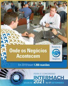 Durante a #Intermach, a Messe Brasil organiza a Rodada de Negócios do Setor #MetalMecânico, estabelecendo relações entre dezenas de grandes compradores com empresas fornecedoras. Profissionais que visitam a #Feira com a finalidade de conhecer as novidades do setor, dispostos a fechar contratos. #abimaq #feimec #usinagem #cnc #automaçãoindustrial #metrologia #industria40 #fiesc Venha expor na Intermach, onde os negócios acontecem!