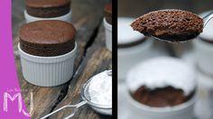 Soufflé de chocolate / Chocolate souffle