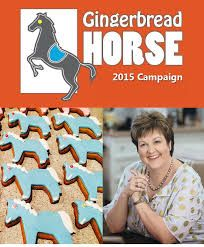 help out the riding for the disabled by baking some gingerbread horses to sell and raise money for RDA!