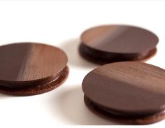 Chocolate Tarts created by Fabrice David, Executive Pastry Chef at Valrhona's L'Ecole Tokyo.
