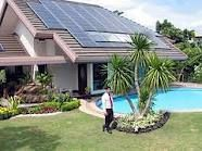 totally solar powered home