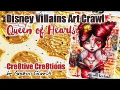 Villains ArtCrawl … my Interpretation of The Queen of Hearts (Alice in Wonderland) » Cre8tive Cre8tions by Andrea Gomoll