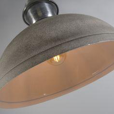 Lámpara colgante CÓRDOBA hormigón #iluminacion #decoracion #interiorismo