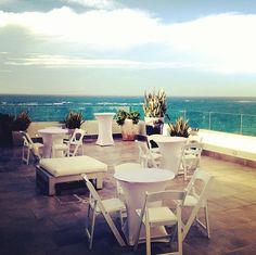 Perfect for Cocktail Hour at our Salon Mirador Terrace. La Concha Resort, San Juan Puerto Rico