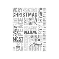 Merry Medley Clear-Mount Stamp  Price: $15.00