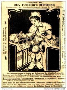 Original-Werbung/ Anzeige 1906 - DR. FEHRLIN'S HISTOSAN - ca. 80 x 110 mm