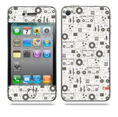 Evolution of Audio Grey iPhone skin by TAJTr