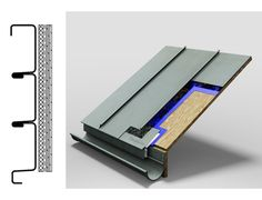 Roof Panels - Standing Seam Panels from MetalTech-USA