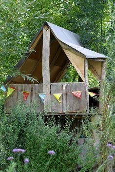 Ein Schweizer Garten: Das Do-it-yourself-Baumhaus