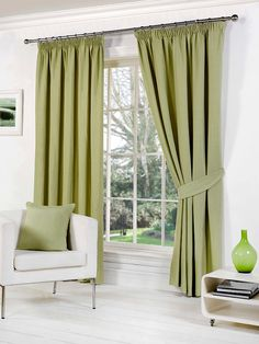 We create beautifully designed hand made curtains, blinds and accessories. Check our Rome Green Pencil Pleat Curtains and visit our site for more fabric selection!!!
