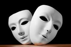 Random acting masks - Neutral masks
