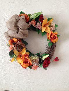 My DIY Spring Wreath