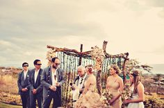 published in Rock 'n Roll Bride:  Maui Animal Farm Wedding: Hollie & John with Dellables.com and TamizPhotography.com