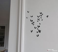 Poetic wall - Stickers dessin - Jour de cœur