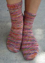 Crusoe Socks - Free pattern from Ravelry
