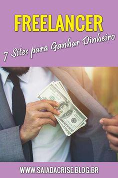 Descubra 7 sites para se cadastrar e gerar renda extra como Freelancer. #trabalho #ganhedinheiro