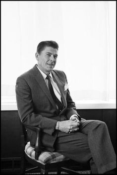Ronald Reagan at The Broadmoor Hotel in 1961. He was 50 years old in this photo.