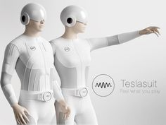 Teslasuit – the world's first full-body haptic suit that lets you touch and feel the future of Virtual Reality and gaming.