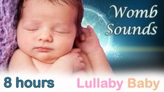 ☆ 8 HOURS ☆ Womb Sounds for babies to go to sleep ☆ Womb sounds and heart beats ☆ Heartbeats - YouTube