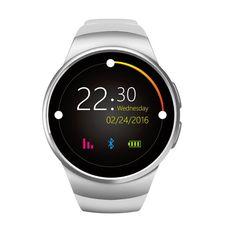 Smart Watch KW18 Gold Herz Rate Kompatibel Für Apple IOS/Android Bluetooth Reloj MINI SIM Smartwatch Tragbare Geräte //Price: $US $69.99 & FREE Shipping //     #smartuhren