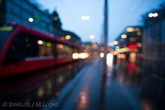 Winterregen in Bern