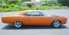 1969 Plymouth Roadrunner 383 Modified Side