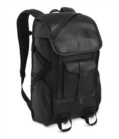 best loved 4d021 c3549 Jansport for Barneys Carbon Collection - Bags Leather Backpack For Men,  Leather Backpacks, Leather