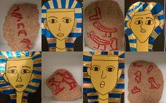 Antiikin Egypti - hieroglyfikirjoitusta ja faaraoita.