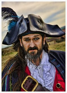 Pirate captains often forced crewmen from the ships they captured to join their crew, especially if they were skilled - like carpenters, navigators Pirate Queen, Pirate Art, Pirate Life, Pirate Ships, Renaissance Pirate, Medieval, Davy Jones' Locker, Walking The Plank, Pirates Cove