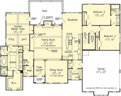 The SENTINEL House Plans First Floor Plan - House Plans by Designs Direct.  DDWEBDDFB-3978