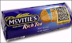 A packet of biscuits Rich Tea, Xmas Ideas, Submissive, Biscuits, Candy, Food, Crack Crackers, Cookies, Sweets
