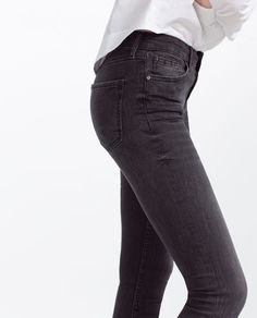 Image 6 of MID-RISE SKINNY JEANS from Zara