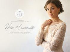 """New Romantic"" wedding makeup and hair. / Photography: Agnieszka Szalinska / Model: Hanna Hlebowicz / Makeup & Hair: Karolina Matyaszewski for Calym Sercem."