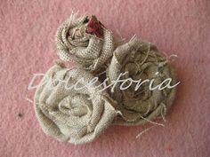 Dolcestoria: foto-tutorial fiori di stoffa