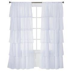 Solid Curtain Panels White 50 X84 Xhilaration