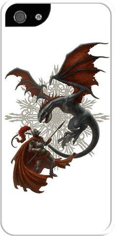 Kerem Beyit - Knight and Dragon Kendin Tasarla - İphone 55S Kılıfları
