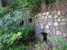The EcoLab property is part of the Riverdale grounds that were owned by James Allison, and many unique stone structures can still be found along the hiking paths. Make You Feel, Like You, How Are You Feeling, Park Homes, Historic Homes, State Parks, Indiana, Attraction, Paths