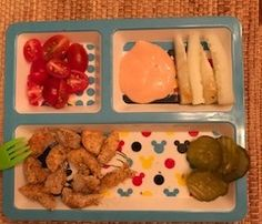 Toddler Meals. Adult dinner served to a child. Well rounded meals for kids.