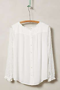 Anthropologie - Josie Clipdot Blouse