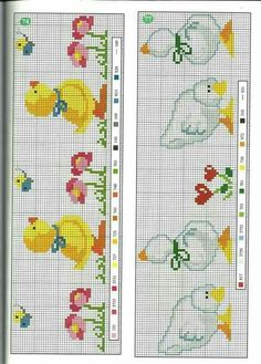Originale The Effective Pictures We Offer You About embroidery letters A quality picture can tell you many things. Baby Cross Stitch Patterns, Cross Stitch For Kids, Cross Stitch Bird, Cross Stitch Borders, Cross Stitch Animals, Cross Stitch Charts, Cross Stitch Designs, Cross Stitching, Cross Stitch Embroidery